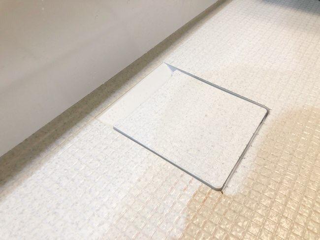 お風呂場の排水口