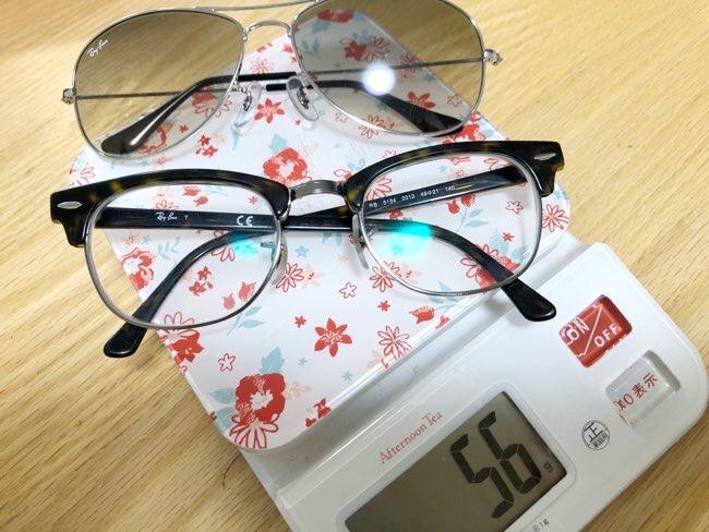 メガネとサングラス