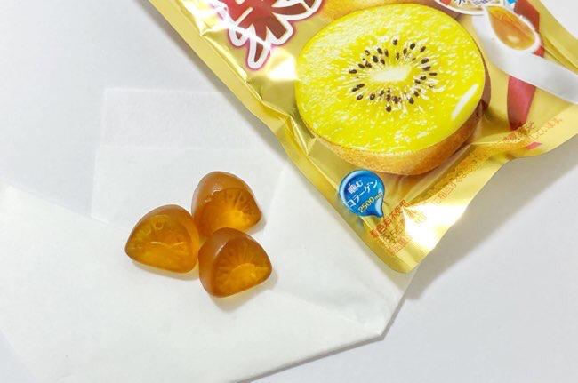 果汁グミ ゴールドキウイ