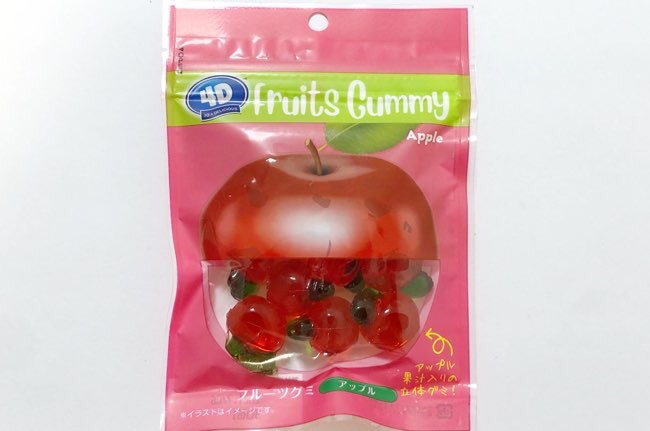 4Dフルーツグミ アップル