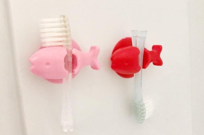 歯ブラシ衛生的な収納