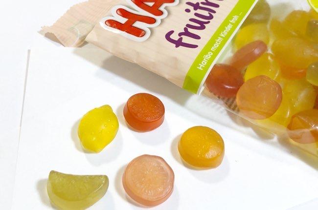 ハリボー フルーツマニア レモン