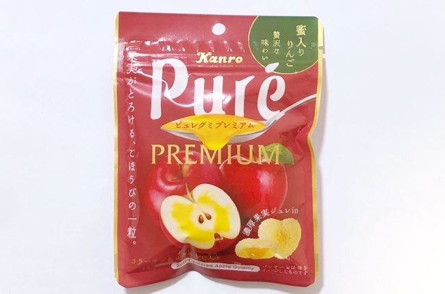 ピュレグミプレミアム 蜜入りりんご