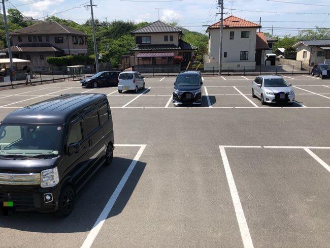 くまの・みらい交流館 駐車場