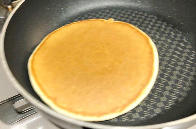ホットケーキ(卵なし)