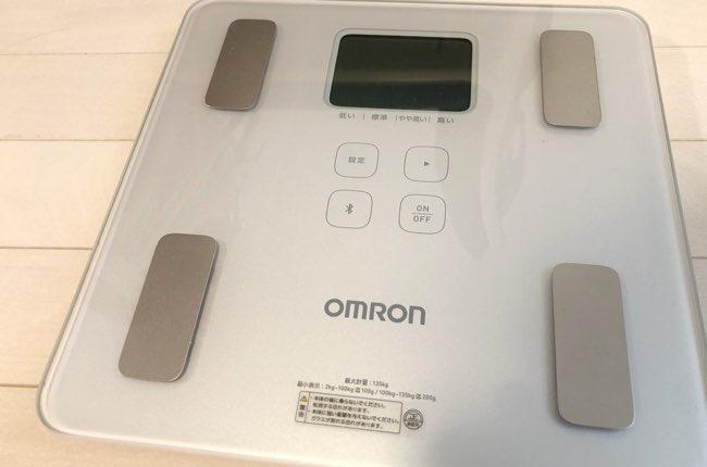 オムロン体組成計